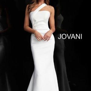 Jovani White Gown